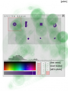 Spectra Brush Screenshot
